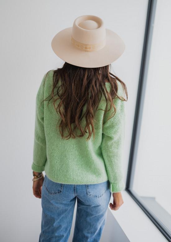 Light green Cédric cardigan