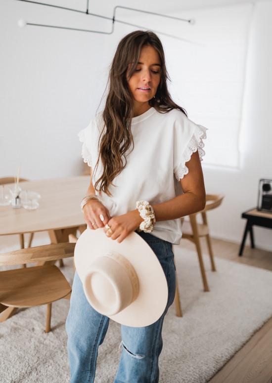 T-shirt Jeremie blanc