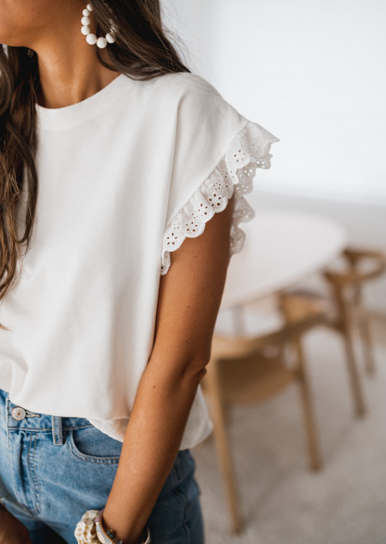 White Jeremie t-shirt