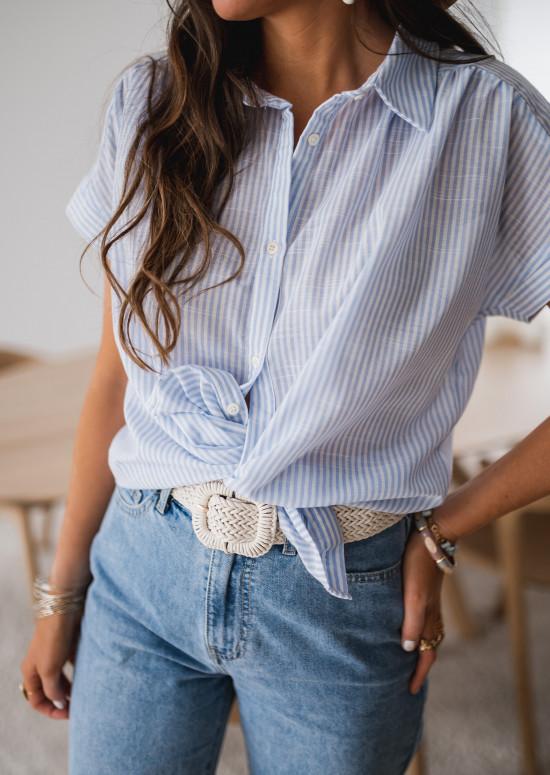 Chemise Rita à manches courtes
