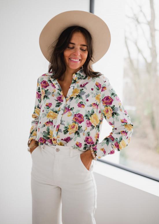 Chemise Luma à fleurs