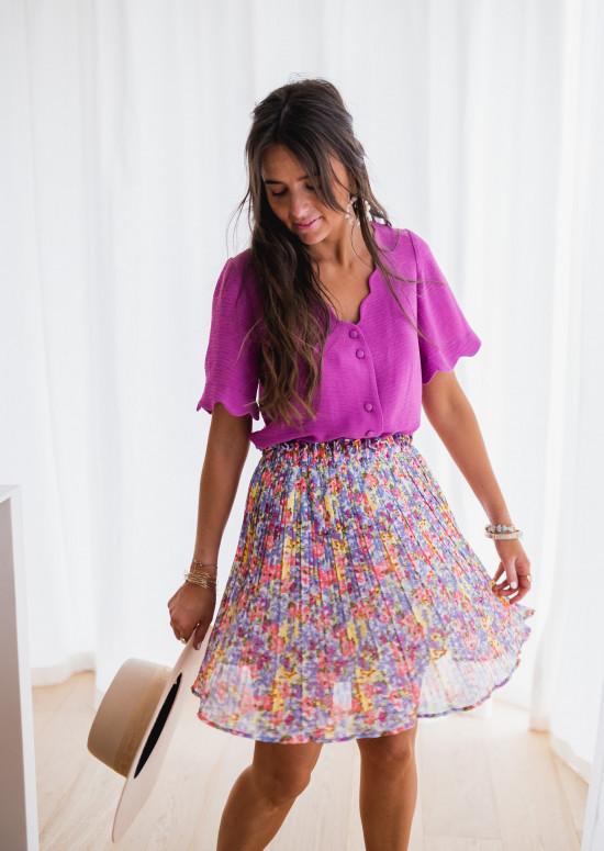 Tiara skirt with flowers