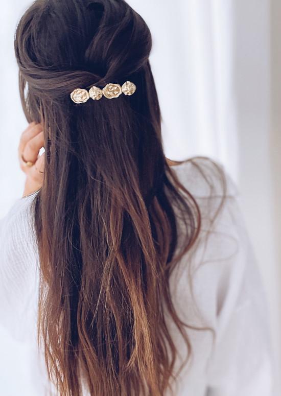 Golden Dipa hair clip