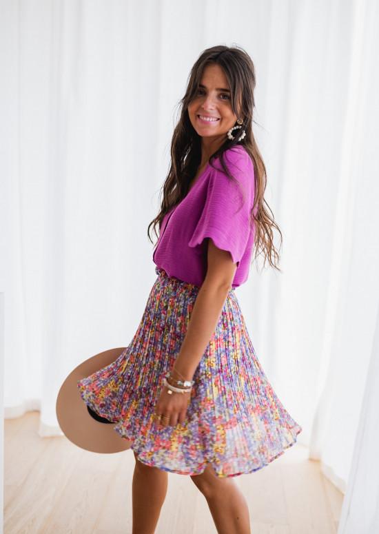 Purple Kathy blouse