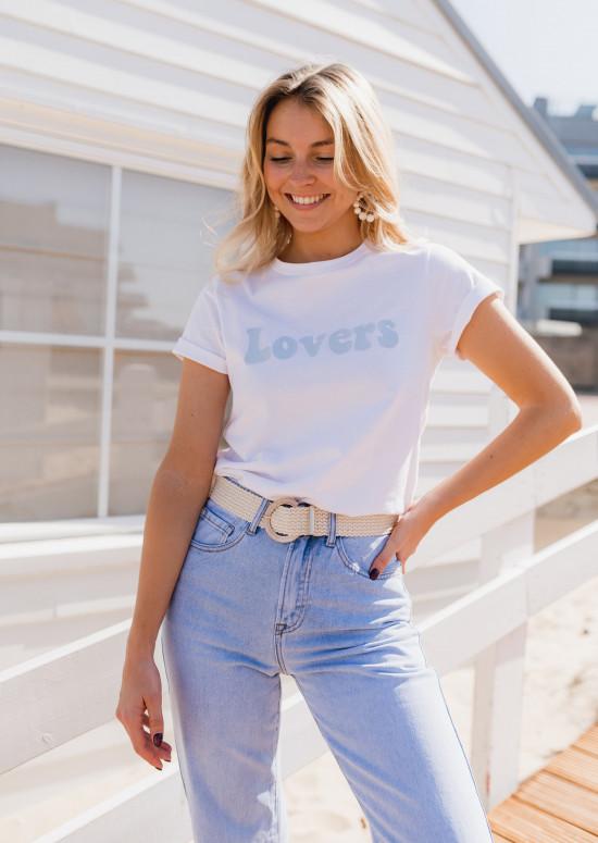 T-shirt Lovers bleu
