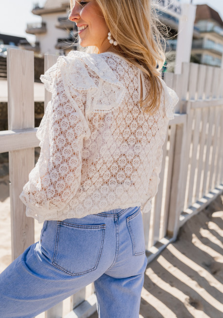 White Filly blouse