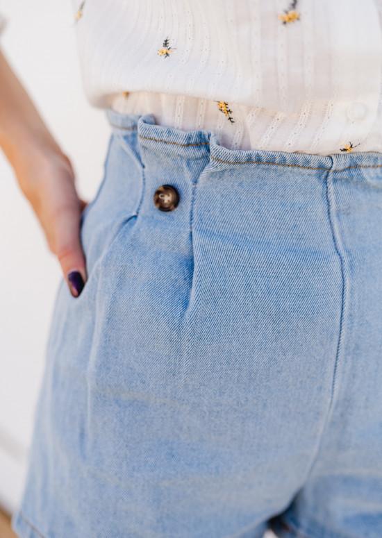 Short Sophia bleu