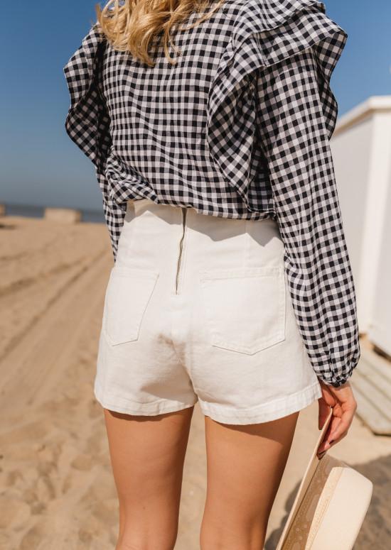 White Sophia short