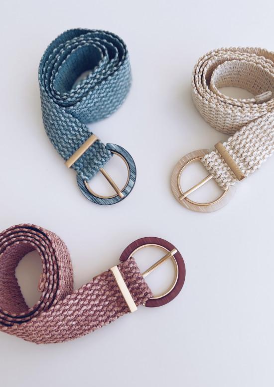 Blue Enou belt