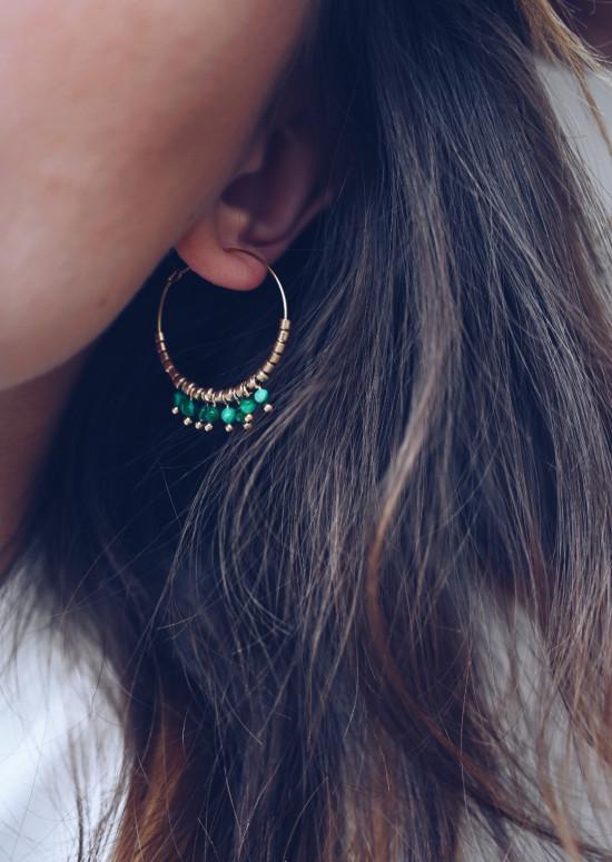 Golden Diem earrings