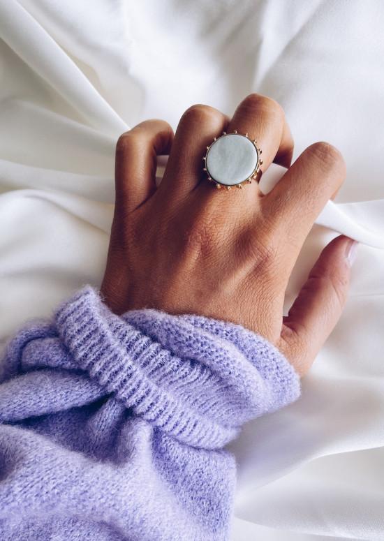 Green water Kate ring