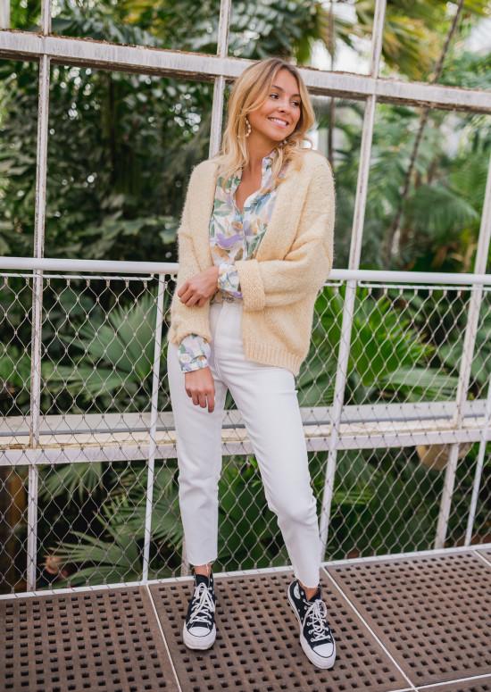Jeans Jaime blanc