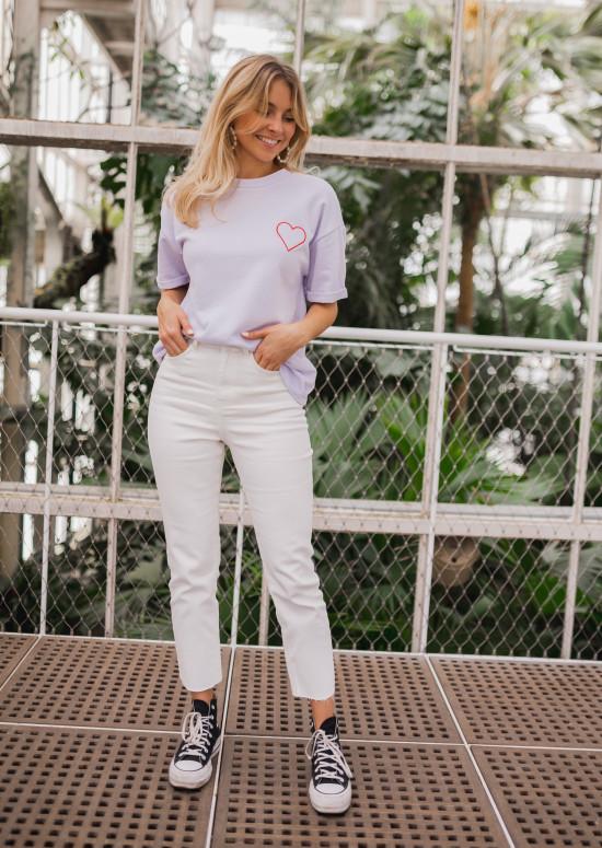 White Jaime jeans
