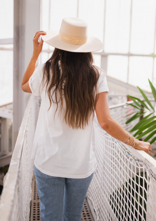 T-shirt SUNSHINE blanc