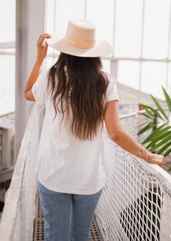 White SUNSHINE t-shirt
