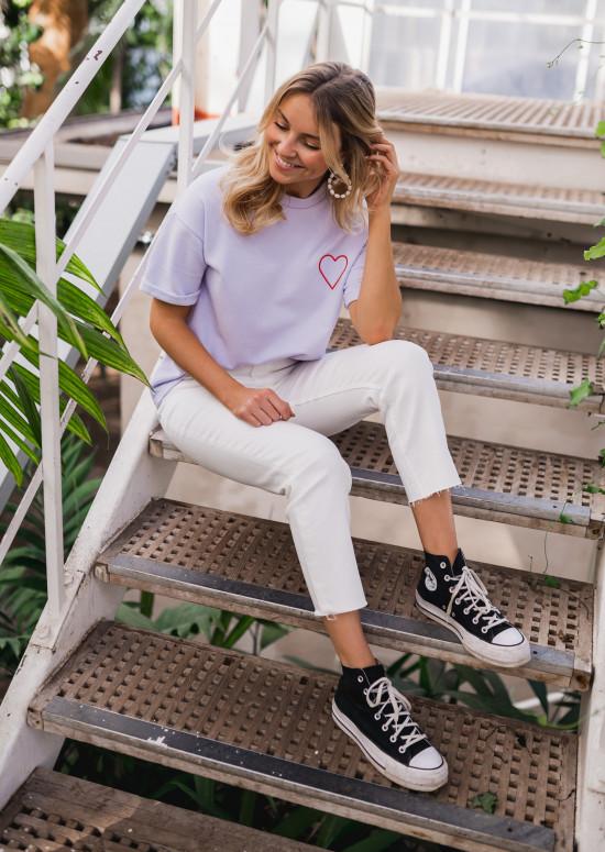 Lavender Mina t-shirt - CREATION