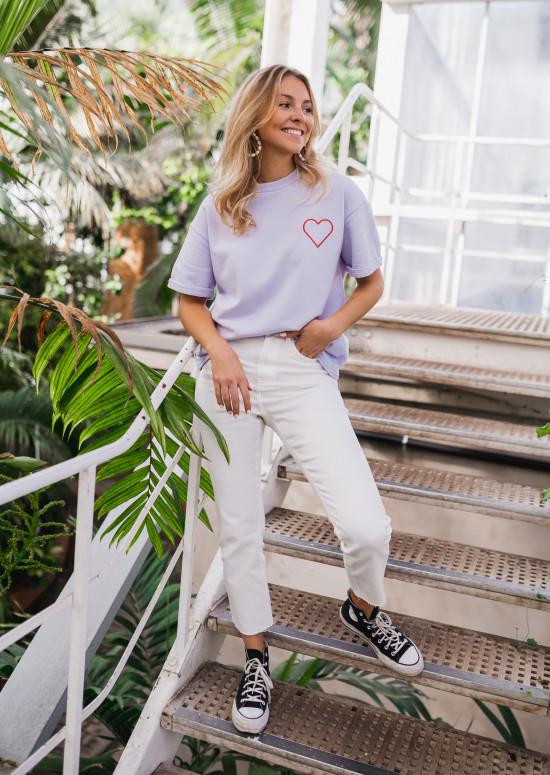 T-shirt Mina lavande - CREATION