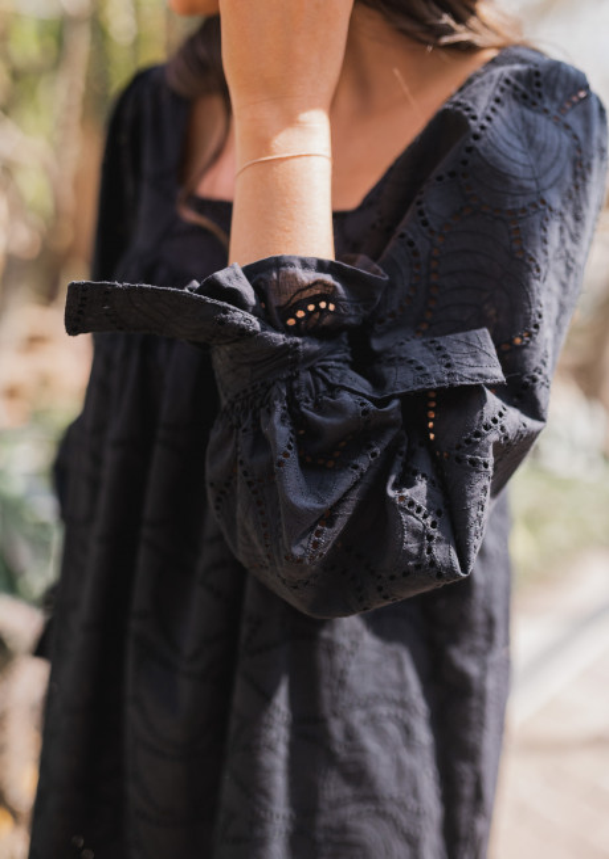 Robe Maria noire - CREATION