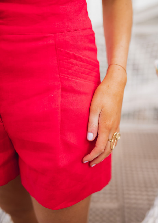 Red Rostie short - CREATION
