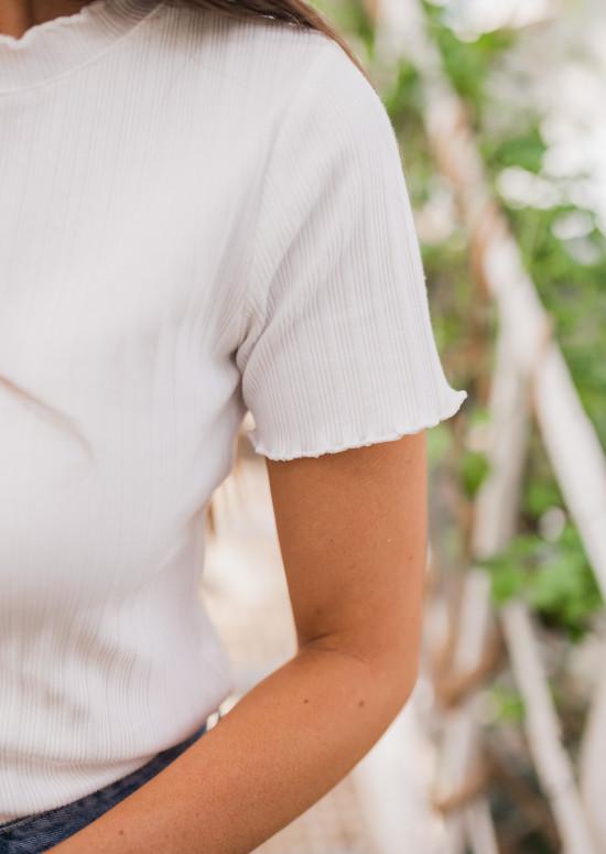T-shirt Jacob blanc