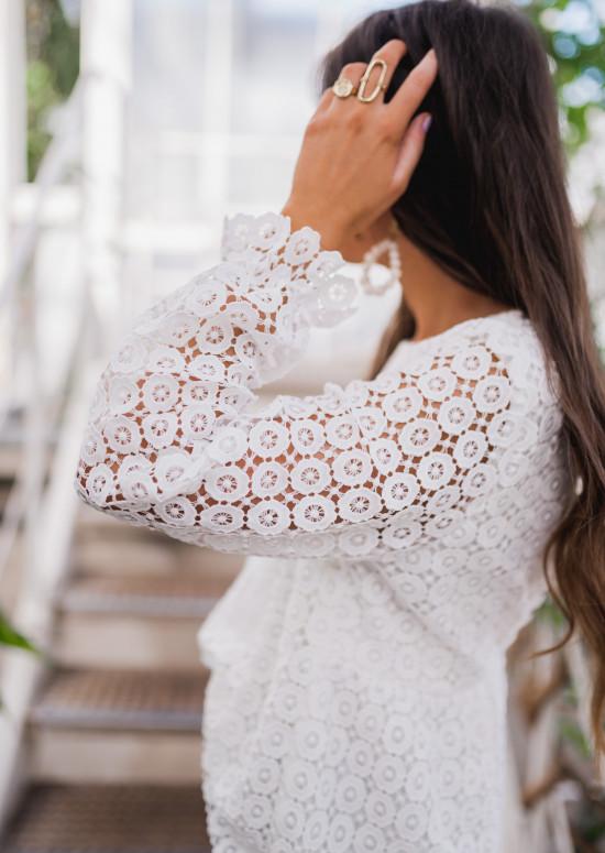 Ecru Kadi blouse