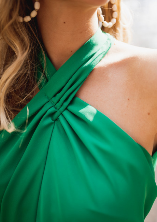 Green Birkin jumpsuit - CREATION