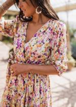 Robe Ellia à fleurs - CREATION