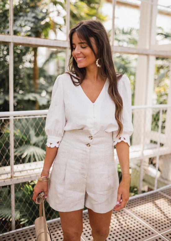 Ecru Catia blouse