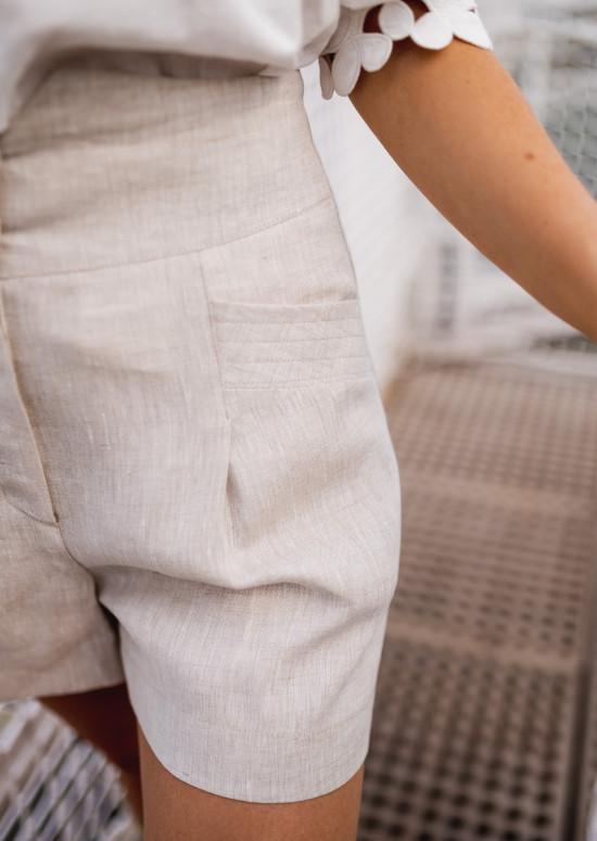 Short Rostie beige - CREATION