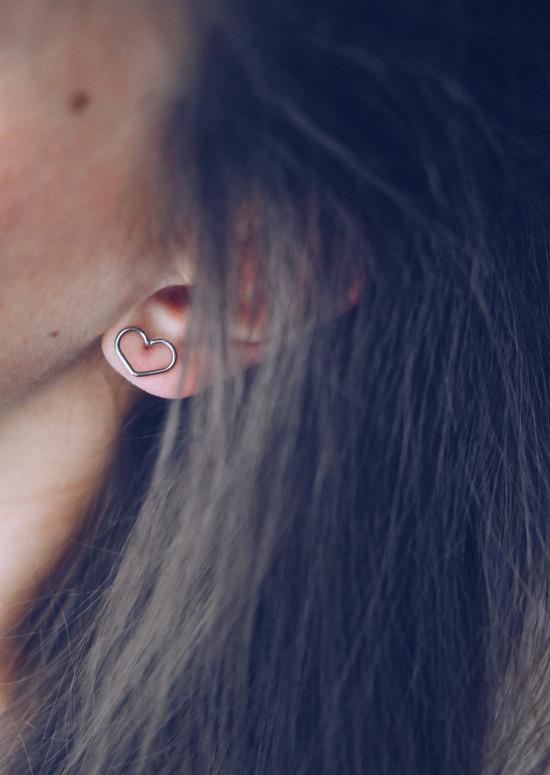 Silvery Pati earrings