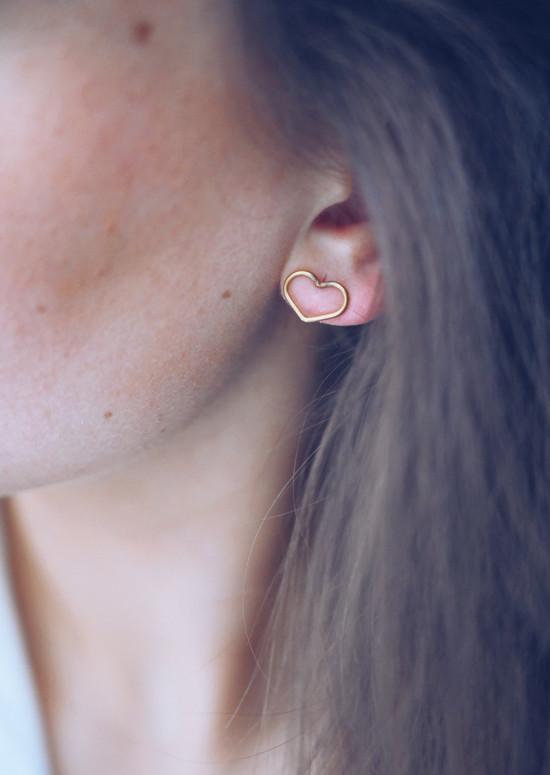 Golden Pati earrings