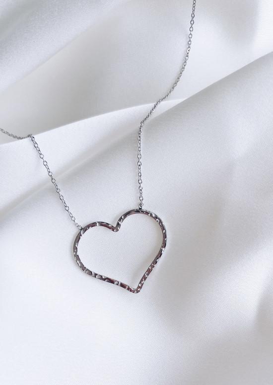 Silvery Kami necklace
