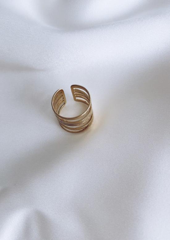 Golden Tomi ring
