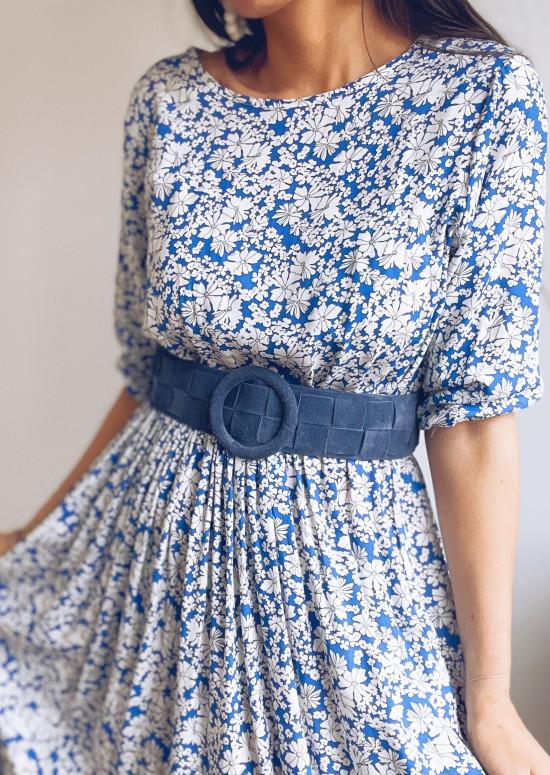 Blue Welli belt