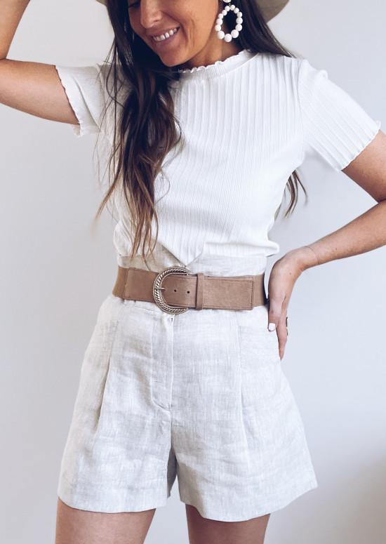Taupe Marick belt