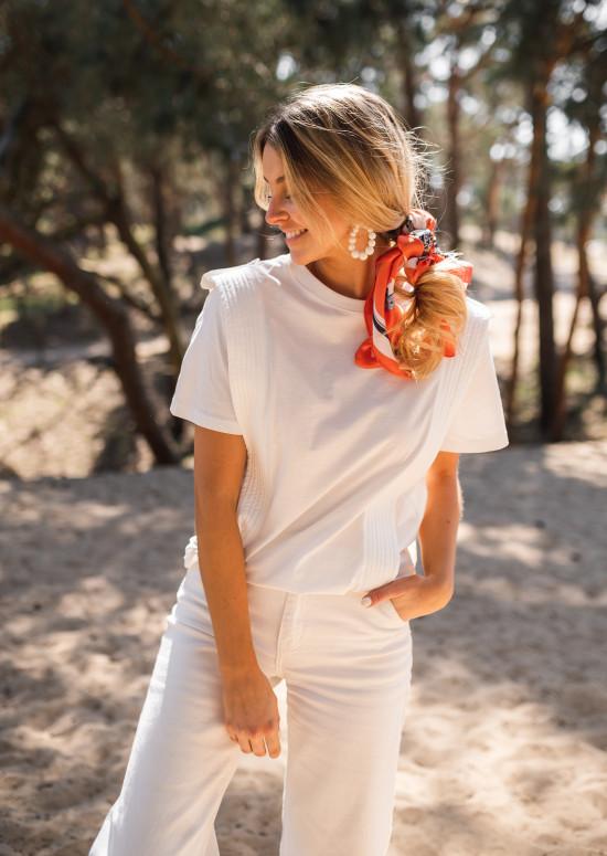 White Belen t-shirt