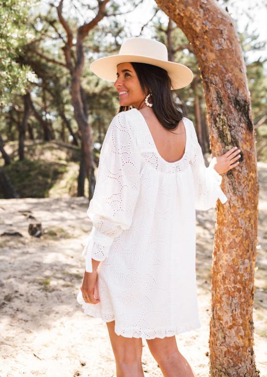 Robe Maria blanche - CREATION