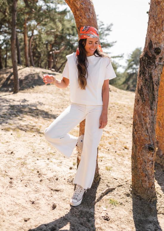 T-shirt Belen blanc