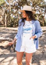 Blue Ethel blazer