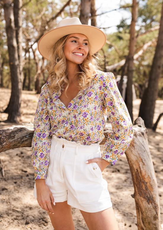 Chemise Marga à fleurs