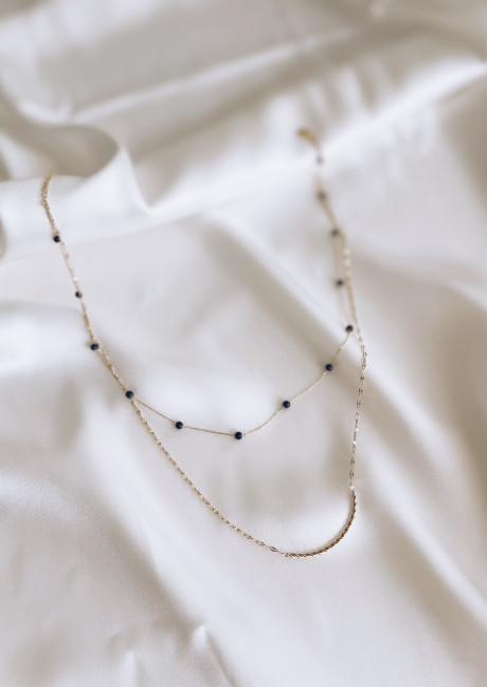 Golden Jaina necklace