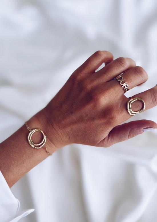 Golden Voyce ring