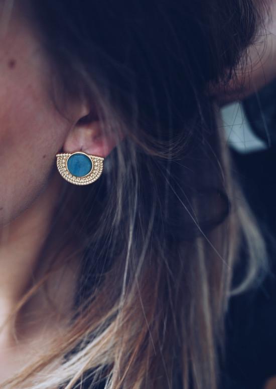 Golden Coda earrings
