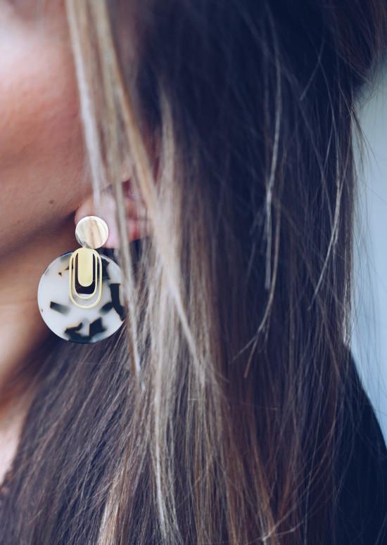 Turtoiseshell Clemy earrings