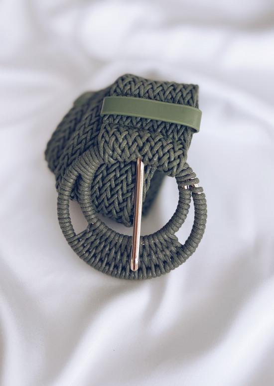 Khaki Saxo belt