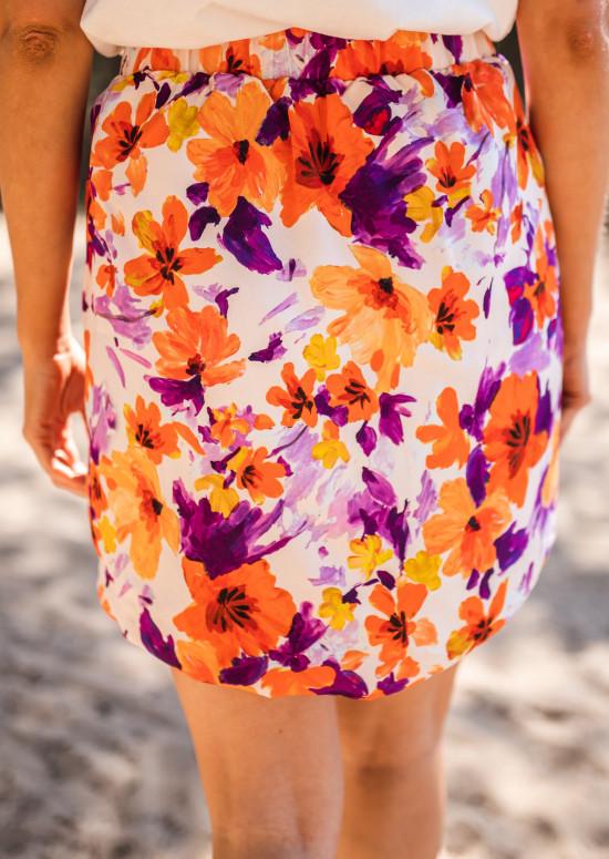 Jupe Lexy à fleurs - CREATION