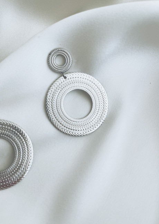 Silvery Cara earrings
