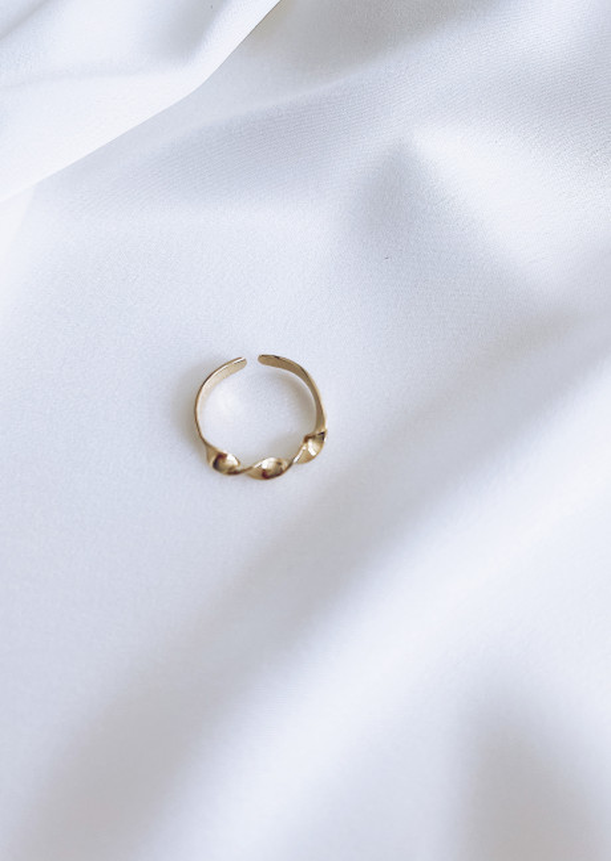 Golden Bulga ring