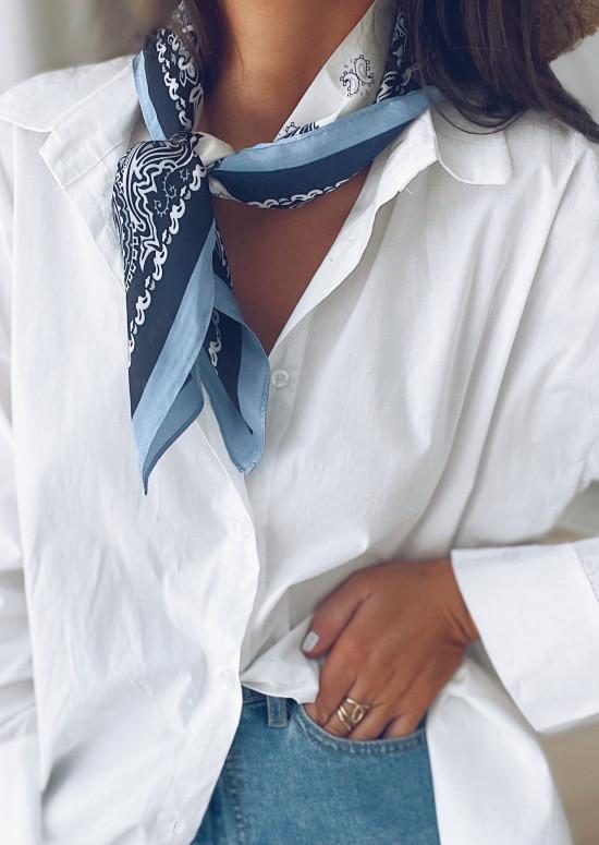 Foulard Hira bleu