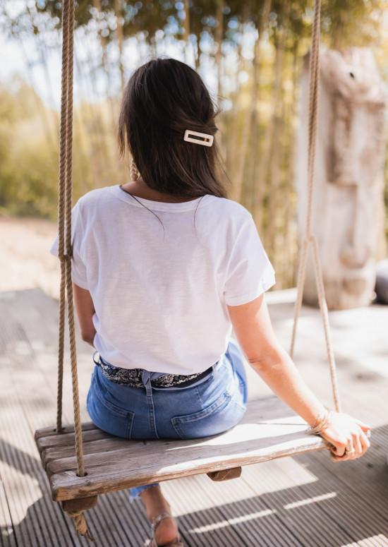 T-shirt Sunsa blanc